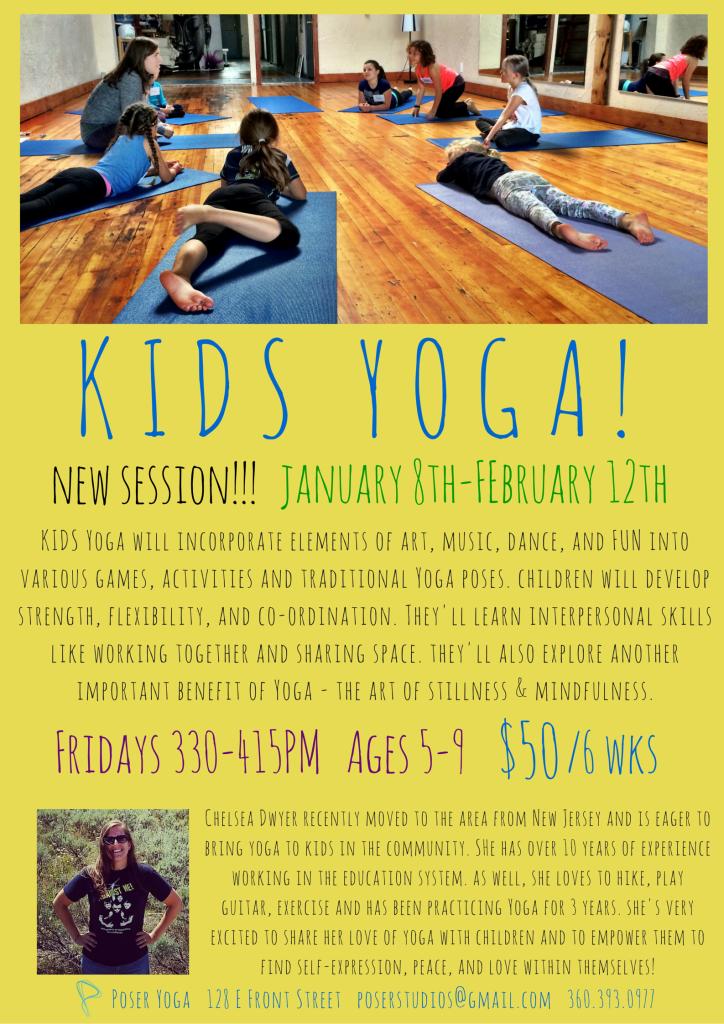 KIDS' Yoga! Jan8-Feb12