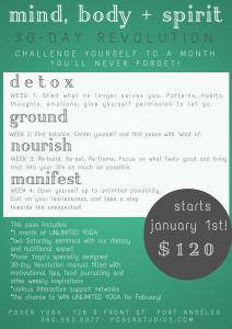 poser yoga's 30day mind body  spirit revolution  poser