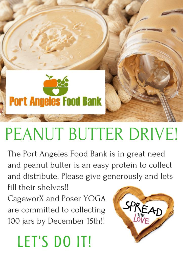 peanut butter drive!